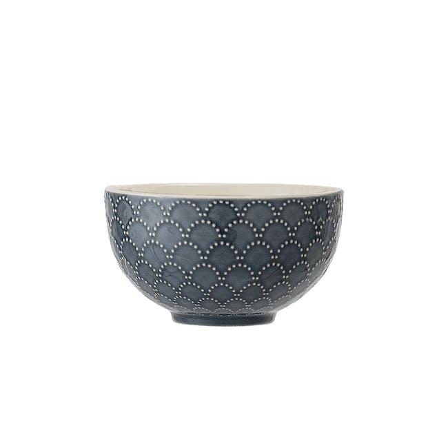 Nari Dip Bowl - Patterned Blue - 0