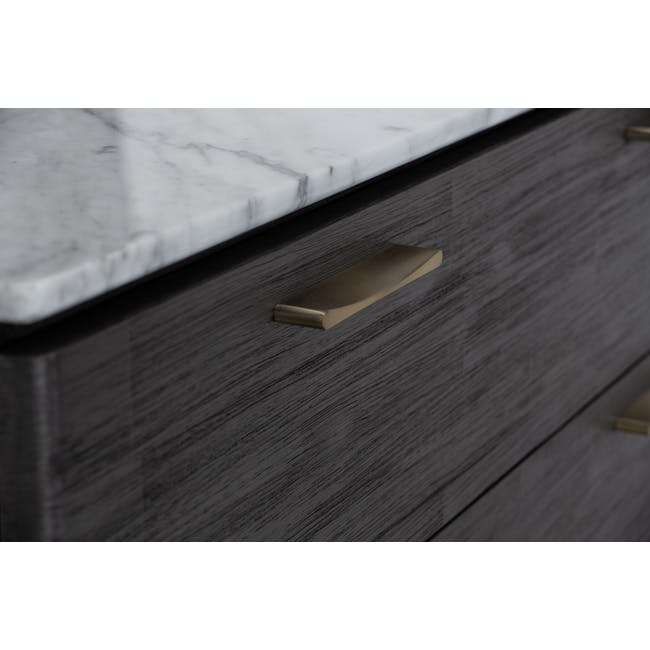 Carson Marble 4 Drawer Chest 1m - 4