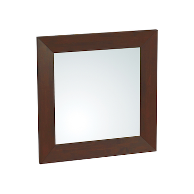 Daffodil Square Mirror 80 x 80 cm - Light Cappucino - Image 1