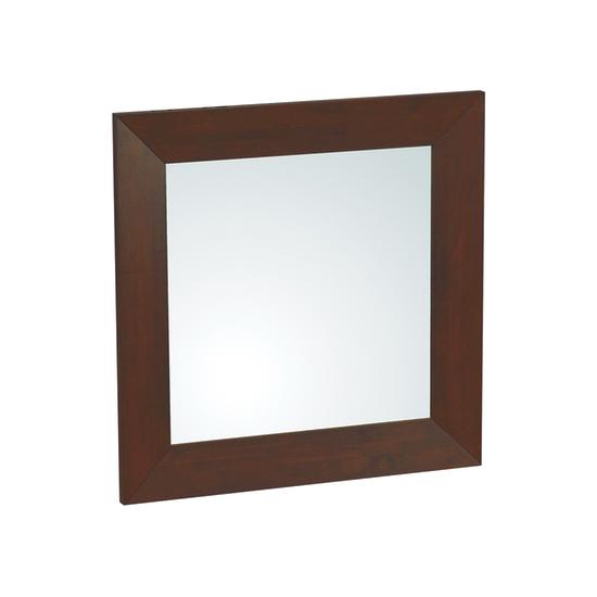 Shape daffodil square mirror 80 x 80 cm light cappucino for Mirror 80 x 80