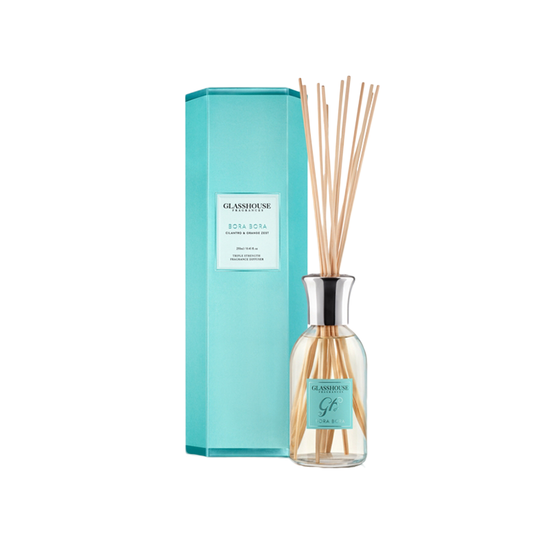 Glasshouse Fragrances - Bora Bora Diffuser - Cilantro & Orange Zest