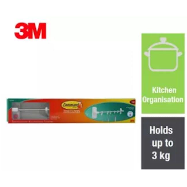Command™ Primer Kitchen Multi-Purpose Hook Bar - 1