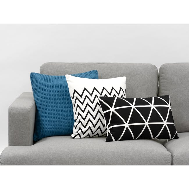 Geo Lumbar Cushion Cover - Diamond - 1