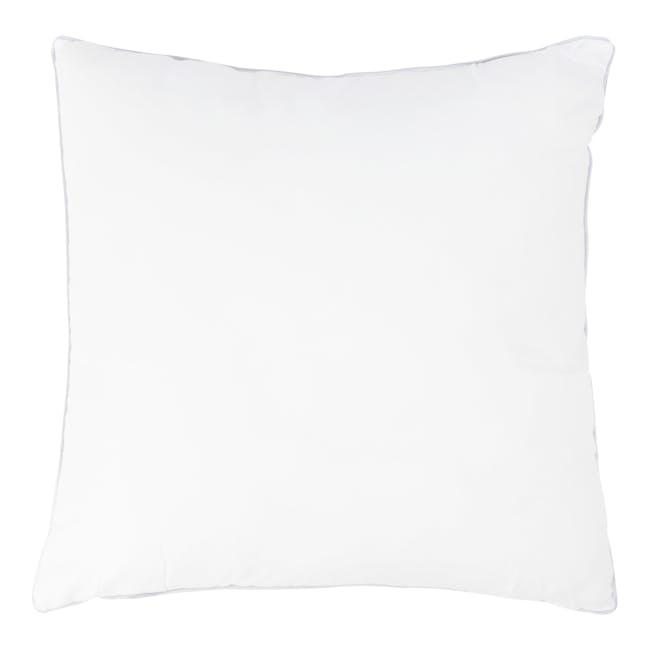 Laura Knitted Cushion - Grey - 3