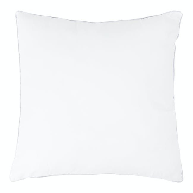 Bold Stripe Linen Cushion - Beige - 2