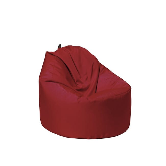 Oomph Mini Spill-Proof Bean Bag - Wine Red - 0