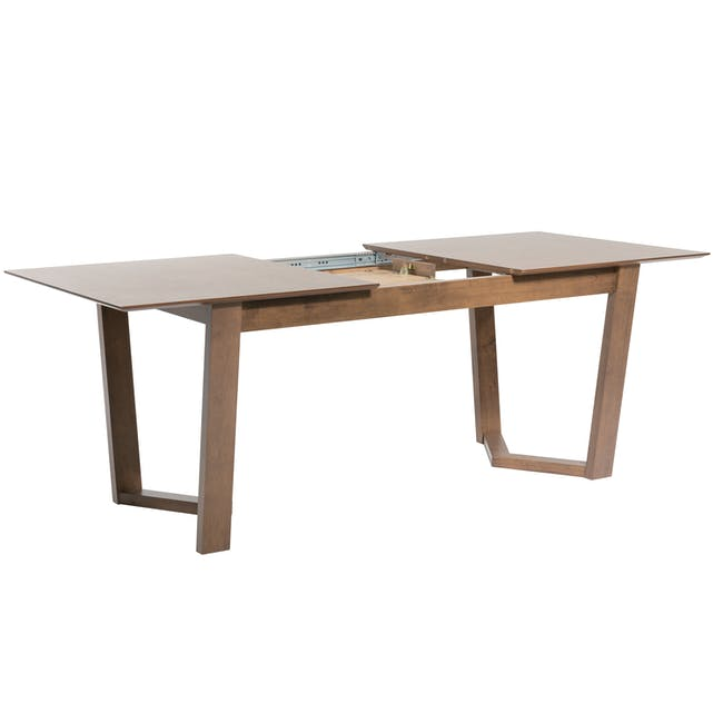 Meera Extendable Dining Table 1.6m - Cocoa - 6