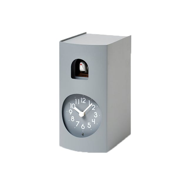 Bockoo Clock - Gray - 0