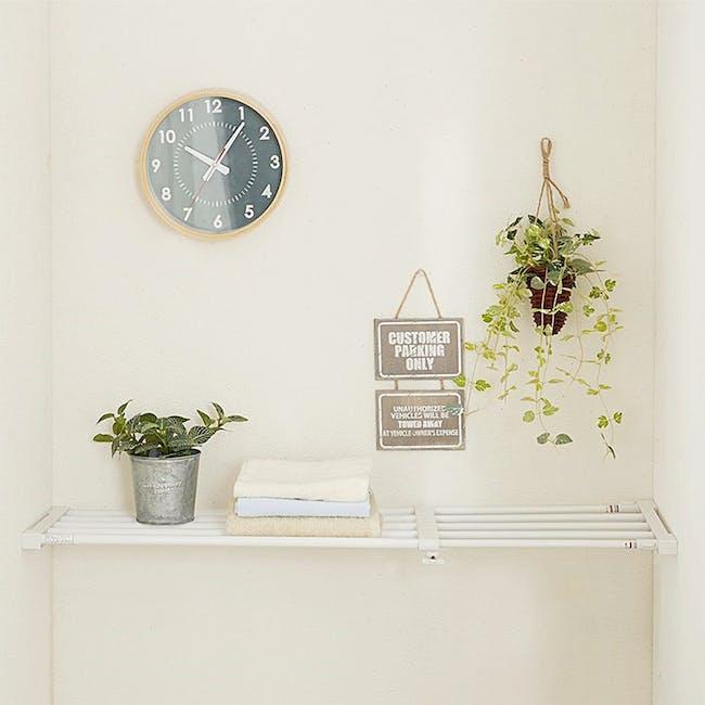 HEIAN DIY Full Extension Shelf - 75cm to 120cm - 3