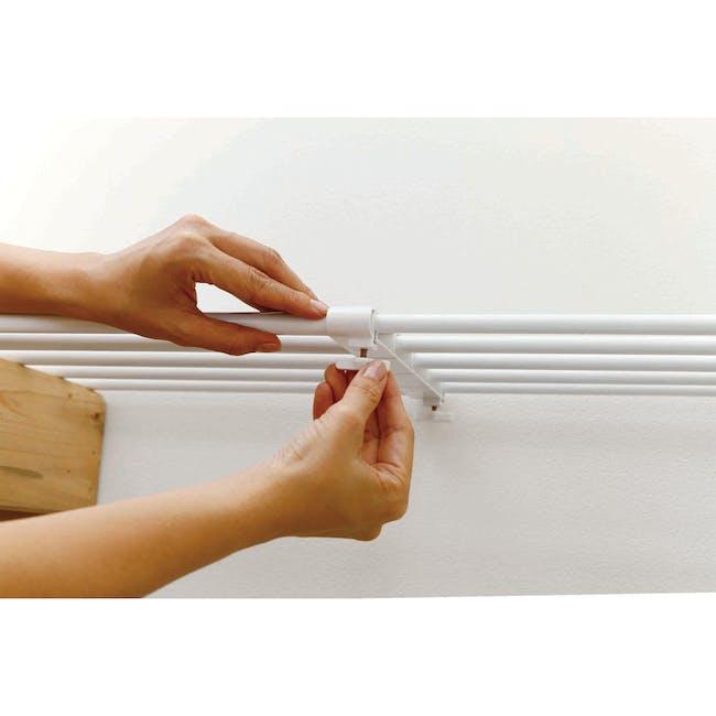 HEIAN DIY Full Extension Shelf - 75cm to 120cm - 5