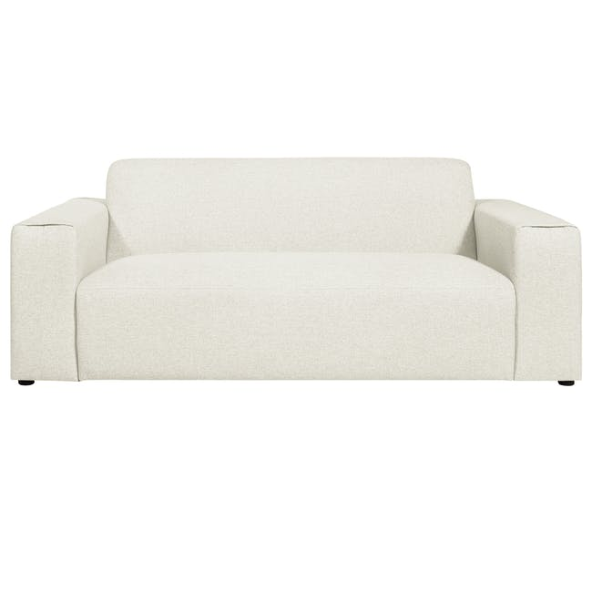 Adam 3 Seater Sofa in Pearl with Veronic in Forest Green - 3