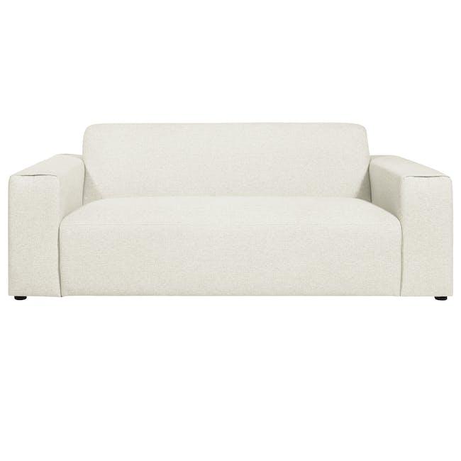 Adam 3 Seater Sofa - Pearl - 2