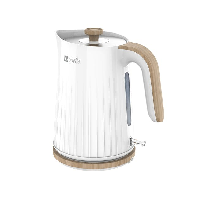 Odette George Series 1.7L Electric Kettle - White - 0
