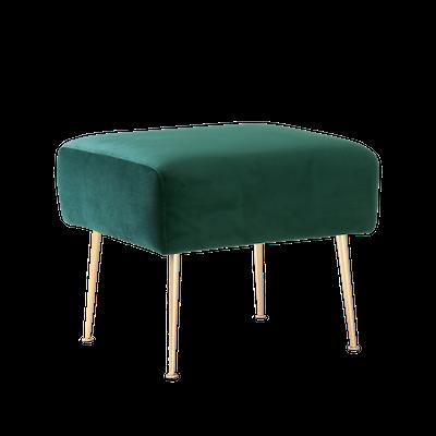 Alero Ottoman - Dark Green (Velvet) - Image 2