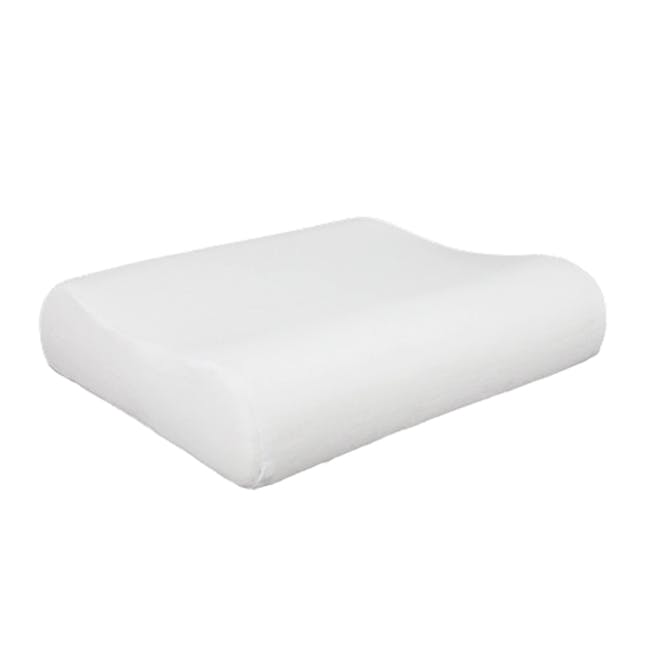 Canningvale Contour Memory Foam Pillow - Twin Pack - 0