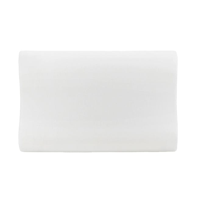 Canningvale Contour Memory Foam Pillow - Twin Pack - 2