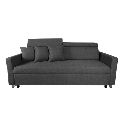Bowen 3 Seater Sofa Bed - Grey - Image 1