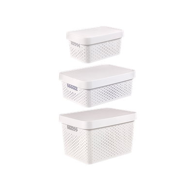 Infinity Box Dots + Lid - White - Image 2