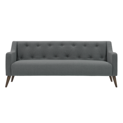 (As-is) Xavier3 Seater Sofa - Slate - 1 - Image 1