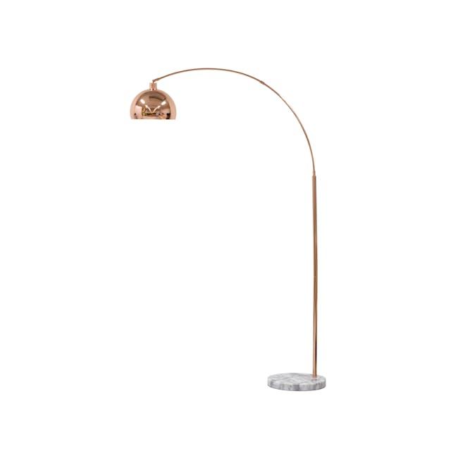 Olivia Floor Lamp - Copper - 0