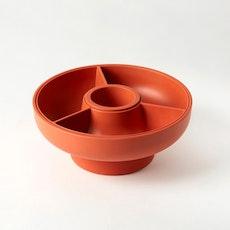 Hoop 2 Serving Bowl - Paprika