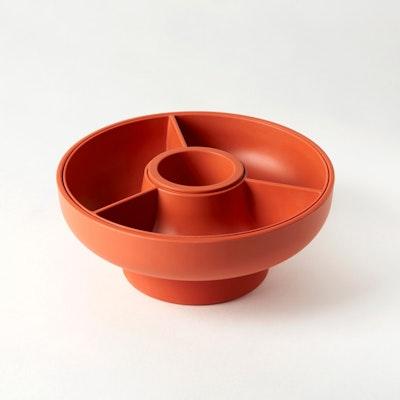 Hoop 2 Serving Bowl - Paprika - Image 1