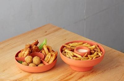 Hoop 2 Serving Bowl - Paprika - Image 2