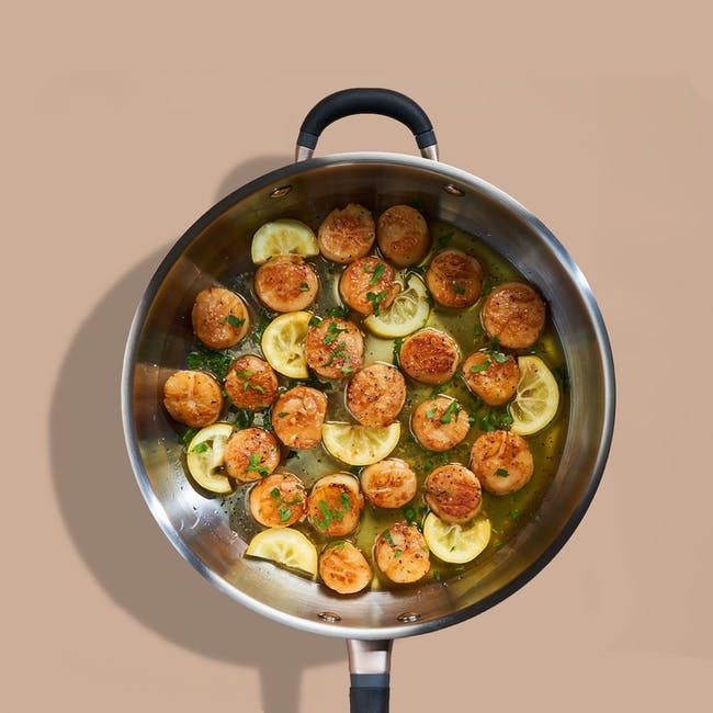 Meyer Accent Series Stainless Steel 28cm Sauté Pan With Lid - 2