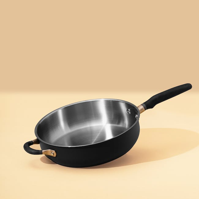 Meyer Accent Series Stainless Steel 28cm Sauté Pan With Lid - 3