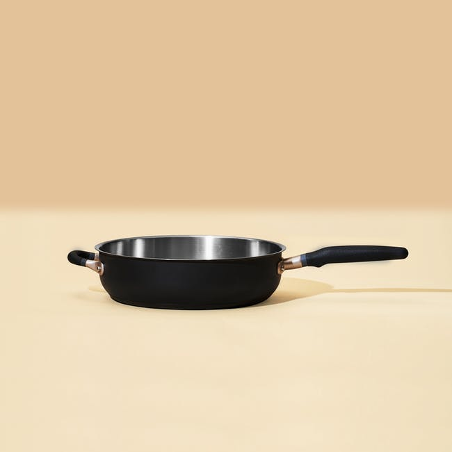 Meyer Accent Series Stainless Steel 28cm Sauté Pan With Lid - 4