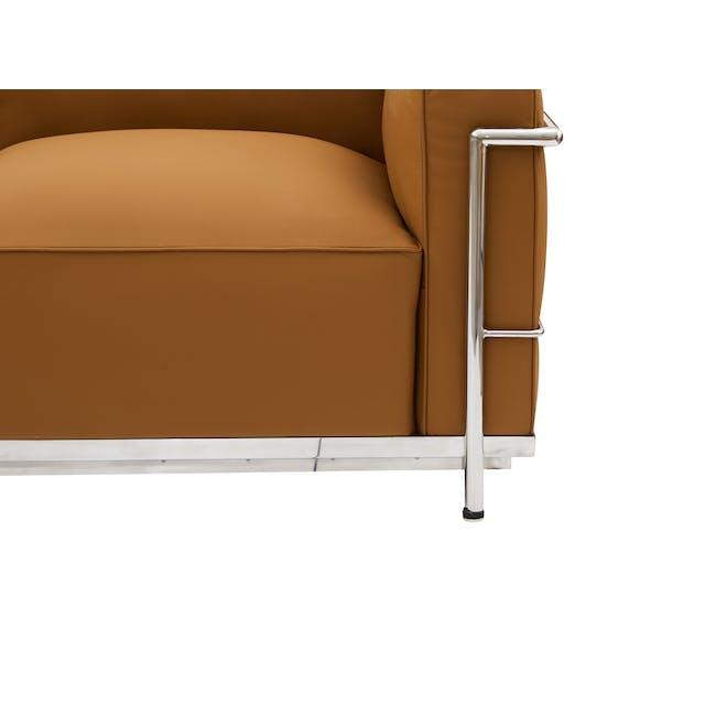 LC3 2 Seater Sofa Replica - Tan (Genuine Cowhide) - 5