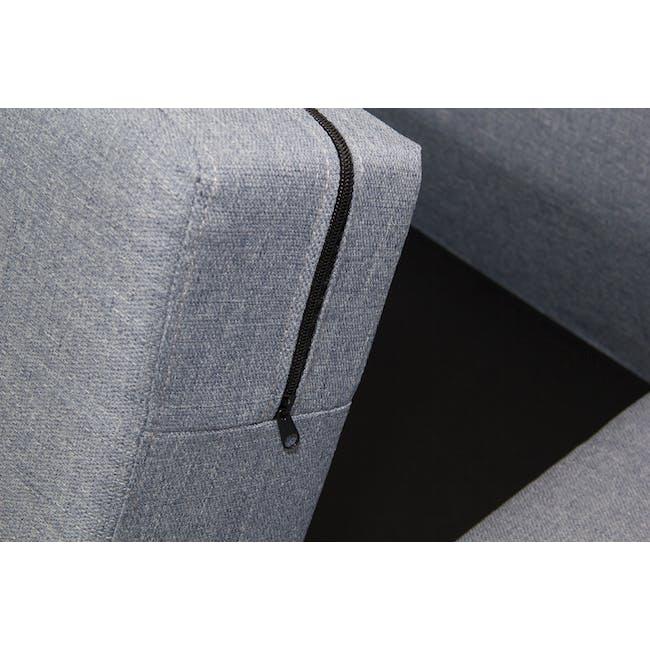 Emma 3 Seater Sofa - Dusk Blue - 9
