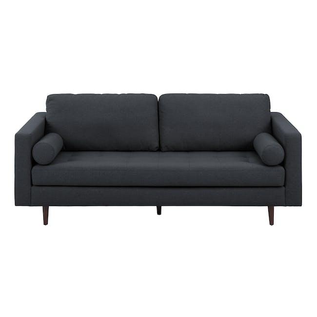 Nolan 3 Seater Sofa - Carbon (Fabric) - 8