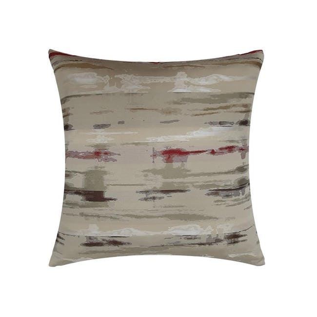Eclipse Cushion Cover - Red - 0