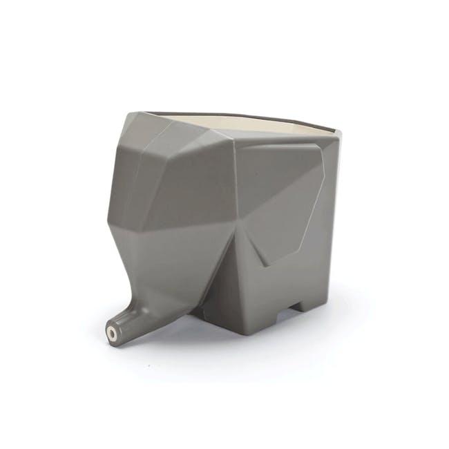 PELEG DESIGN Jumbo Cutlery Drainer - Grey - 0