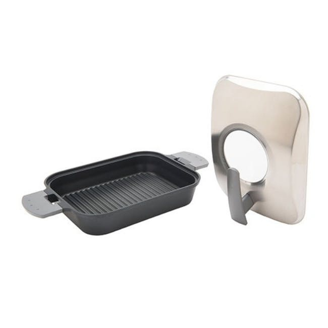 Uchicook Steam Grill with Stainless Steel Lid - 1