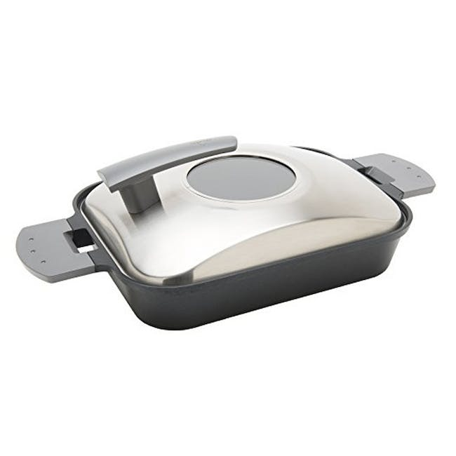 Uchicook Steam Grill with Stainless Steel Lid - 0
