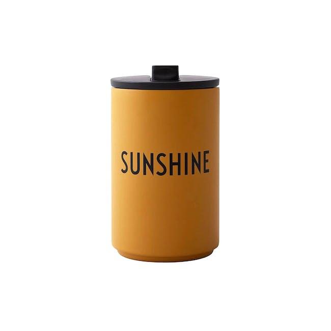 Insulated Cup - Mustard (Sunshine) - 0