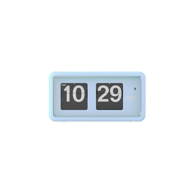 TWEMCO Table Clock - Blue - 0