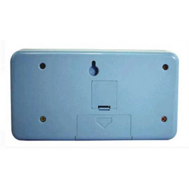 TWEMCO Table Clock - Blue - 1