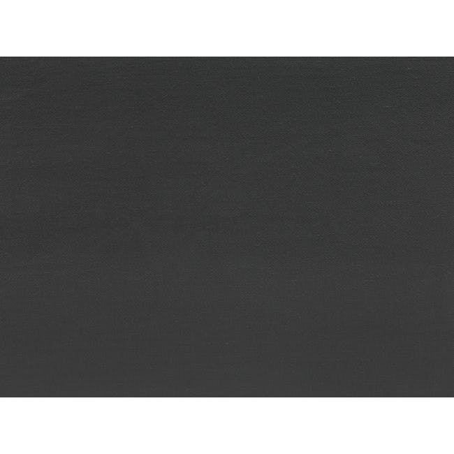 (King) Aurora Fitted Bed Sheet - Granite - 2