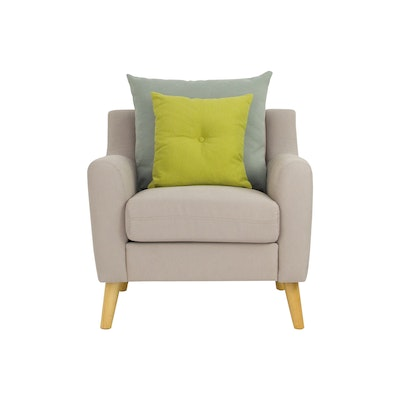 Evan Jr. Armchair w/ Cushions - Sand