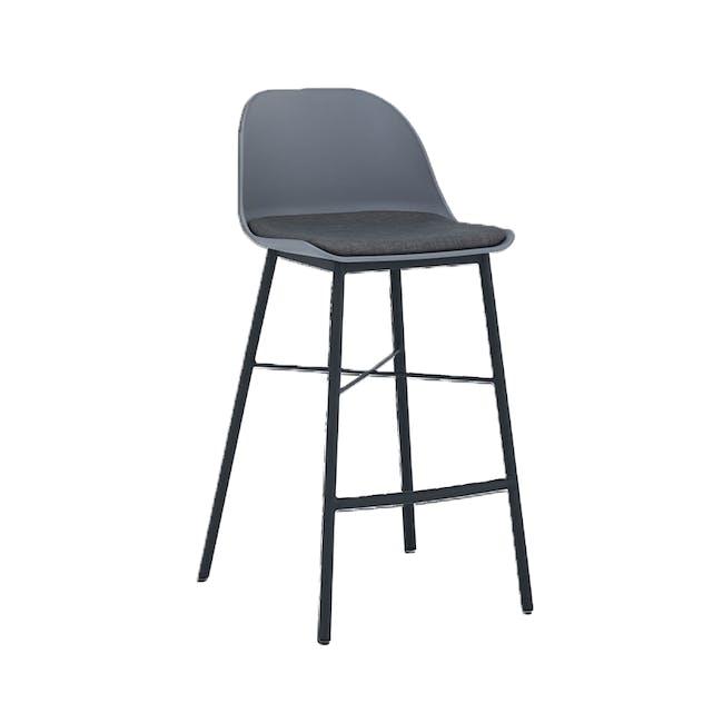 Denver Counter Chair - Grey - 3
