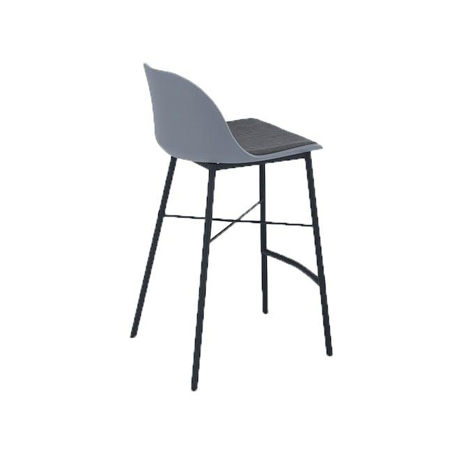 Denver Counter Chair - Grey - 2