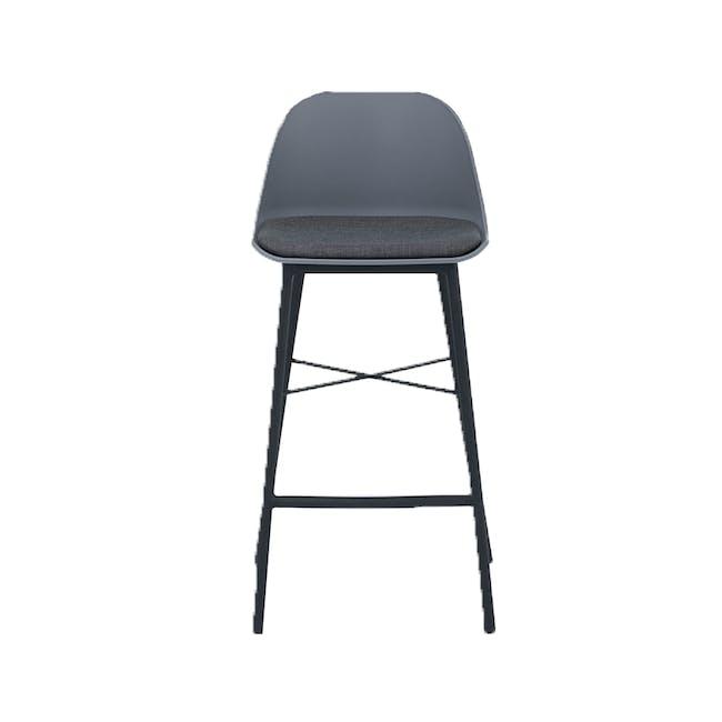 Denver Counter Chair - Grey - 1