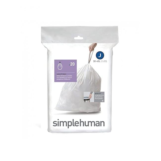 simplehuman Pefect Fit Liner 30L to 45L - J - 1