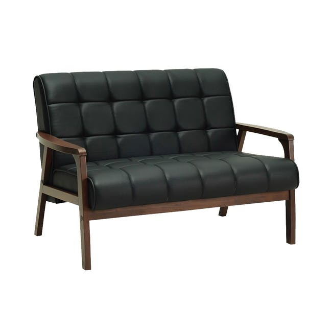 Tucson 3 Seater Sofa with Tucson 2 Seater Sofa - Espresso - 1