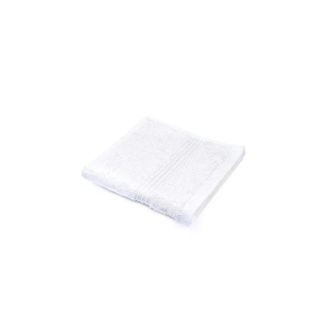 Canningvale Egyptian Royale Face Washer - Carrara White - 0