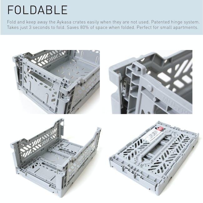 Aykasa Foldable Midibox - Baby Blue - 5
