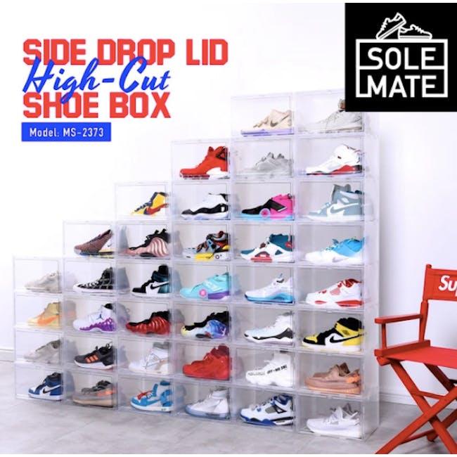 SoleMate Side Drop Lid Shoe Box - High-Cut - 3